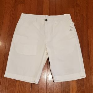 Mens Brooks Brothers Shorts White Size 34 NWT
